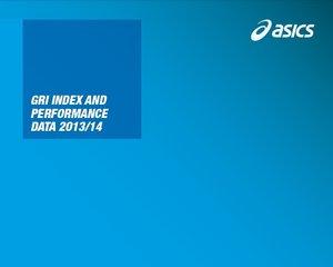 GRI Index & Performance Data 2013/14